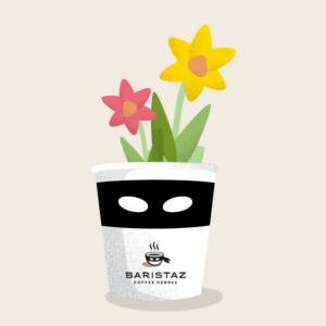 Bepflanze den Hero-Becher mit Blumen, Kräutern oder was auch immer Dir in den Sinn kommt.