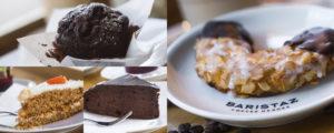 Süß und sebst gebacken: Eine Auswahl unserer Kuchen und Muffins.